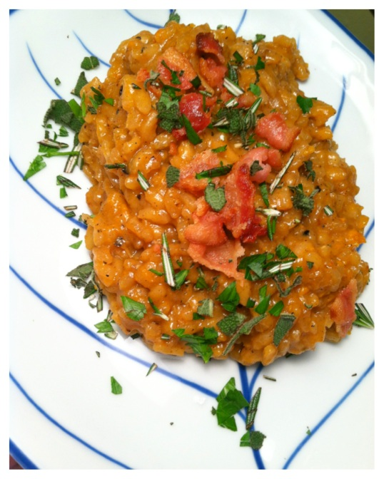 Sweet potato risotto 2