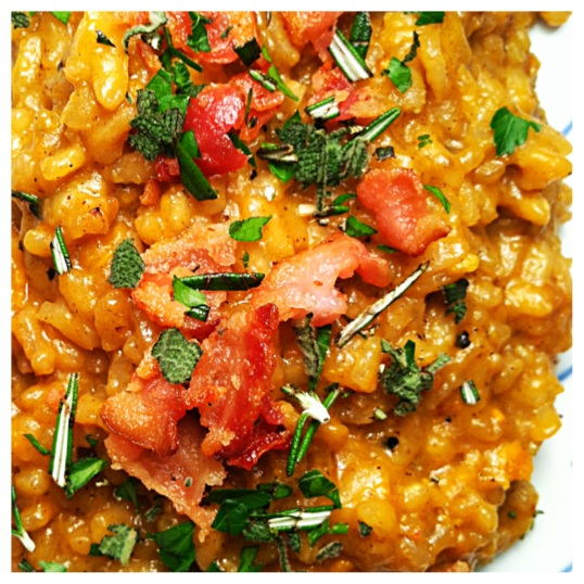 Sweet potato risotto 1