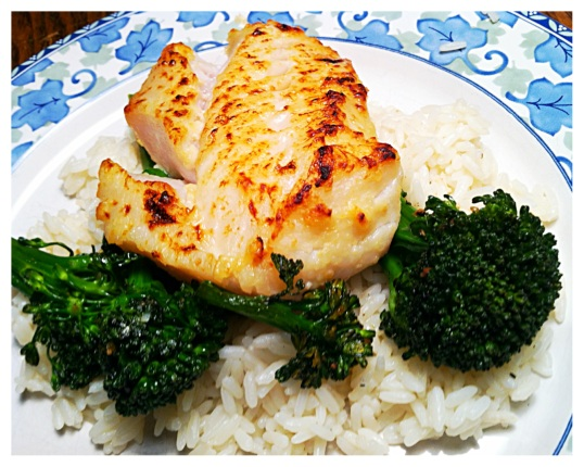 Miso-marinated cod