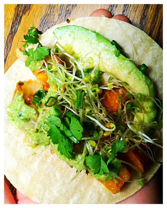 Sweet potato taco 2