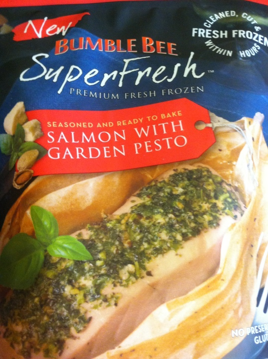Bumblebee SuperFresh™ Salmon with Garden Pesto package