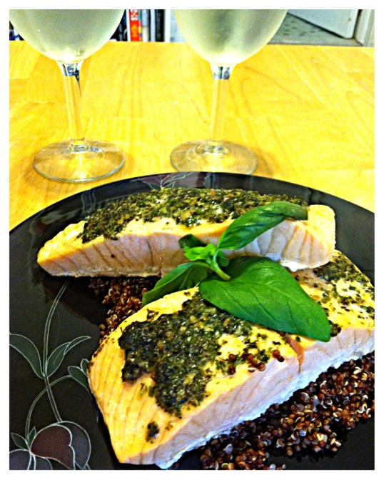 Bumblebee SuperFresh™ Salmon with Garden Pesto